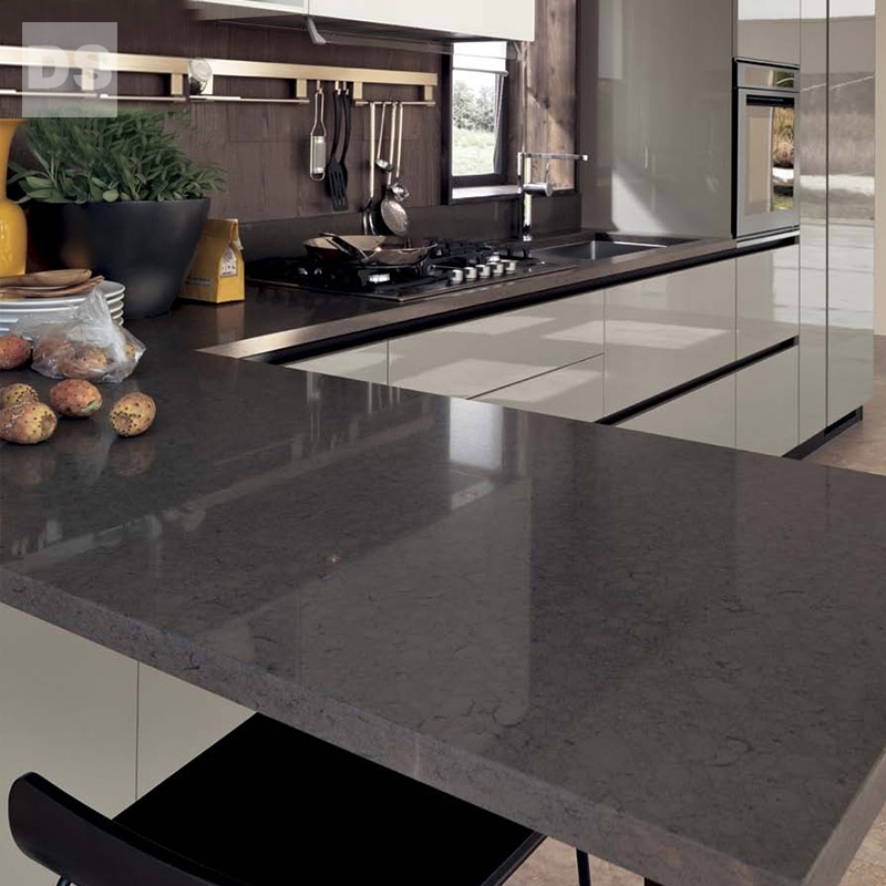 Mirror panel paint rock plate a kitchen cabinets