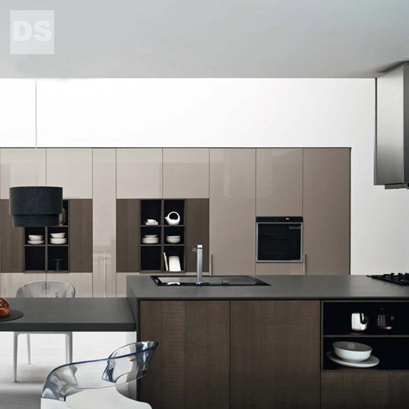 Combination board kitchen cabinet