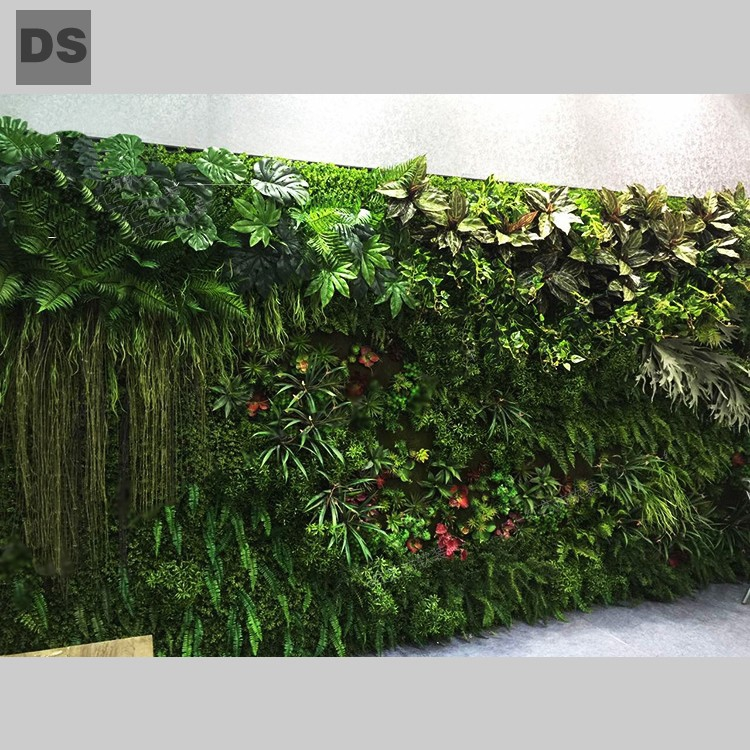simulation plants wall