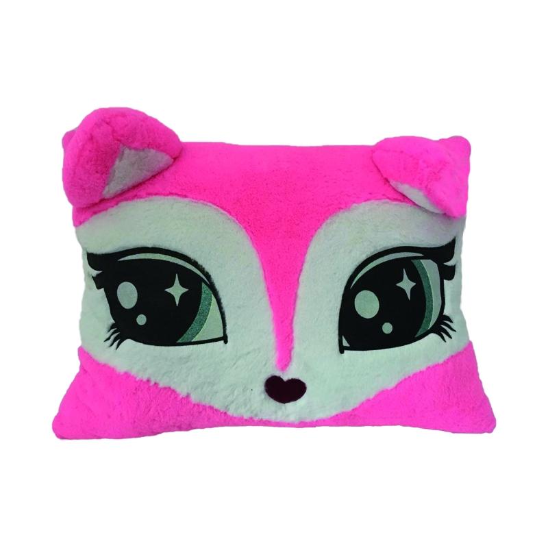 2D Fox pillow