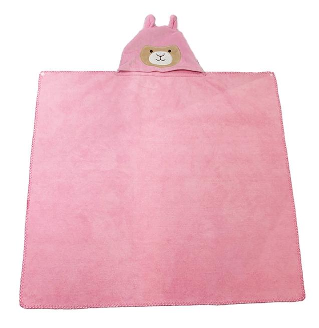 Kids Hooded Bath Towel
