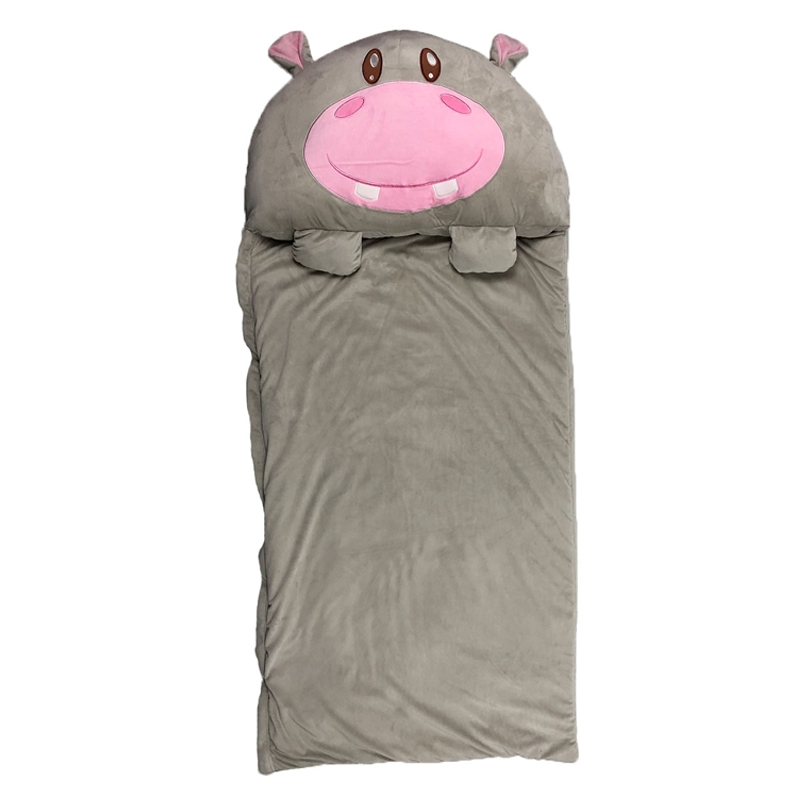 Hippo happy  sleeping bag