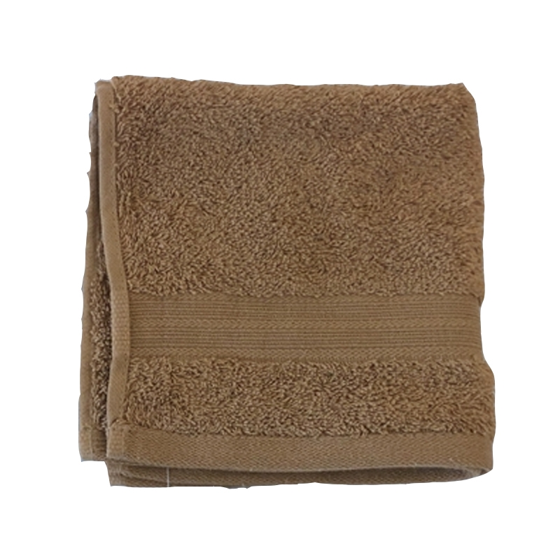 Square towel of Egyptian cotton
